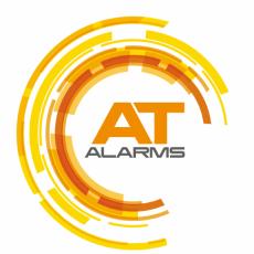 A.T. Alarms Logo